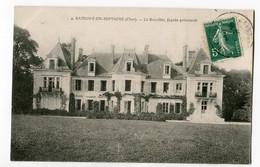 CPA 18 SAVIGNY EN SEPTAINE  Breuillet ( Chateau) à Georges Millet D' Asnieres/Bourges - France