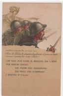 CP Italienne De Propagande , 1ére Guerre Mondiale , X 32 - Italie