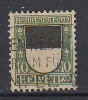 ZWITSERLAND - Michel - 1922 - Nr 176 - Gest/Obl/Us - Usati