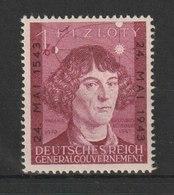 Generalgouvernement / 400. Todestag Von Nikolaus Kopernikus / MiNr: 104 - Besetzungen 1938-45