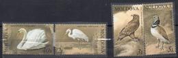 MiNr. 481-84 - Gefährdete Vogelarten - Postfrisch - Moldawien (Moldau)