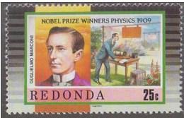 Marconi Send First Transatlantic Message, Wireless, Radio, Telegraph, Nobel Prize, Physics History, MNH - Nobel Prize Laureates