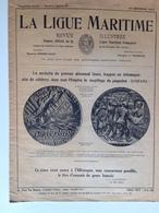 Revue - La Ligue Maritime Déc 1918 - Les Attaques Bateaux Guerre 14/18 - Lusitania, Sussex, J. Mason, Etc.. - Livres, BD, Revues