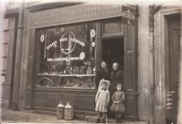1920 - Rosny-sous-Bois (Seine-Saint-Denis) - Carte Photo Crémerie épicerie Annotée à L'époque - FRANCO DE PORT - Rosny Sous Bois