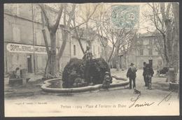 Pertuis - Place Et Fontaine De Diane - Phot. E. Lacour - Voir 2 Scans - Pertuis
