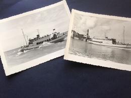 M/S UNDINE - OSTSEEBAD WARNEMUENDE - 2 FOTO-KARTEN - Ships