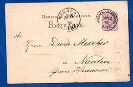 Allemagne  / Entier Postal   /  De Forbah ( Moselle )  / Pour Norden / 30-12-76 - Cartoline - Usati