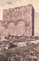 Cpa,israel,jérusalem,port E  D'or,et Cimetière,histoire Du Monde ,asie - Israel