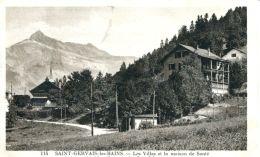 N°62149 -cpa St Gervais Les Bains -les Campanules- - Saint-Gervais-les-Bains