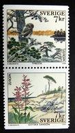 Schweden 2122/3 Do/Du **/mnh, EUROPA/CEPT 1999, Nationalpark Tyresta Bvg) Nationalpark Gotska Sandön - Unused Stamps