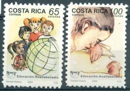 Costa Rica - 2002 - Yt 704/705 - U.P.A.E.P. - ** - Costa Rica