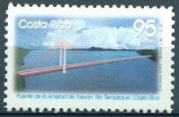 Costa Rica - 2002 - Yt 707 - Pont De L'Amitié De Taïwan - ** - Costa Rica