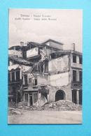 Cartolina Treviso - Piazza Palestro - Caffè Santon - Cassa Della Rovere 1918 Ca. - Treviso