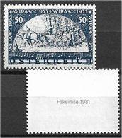 1559q: Einzelmarke Aus Dem Wipa- Block 1933 Als Nachdruck Aus 1981/ Reprint, Faksimile - 1918-1945 1. Republik