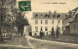 Dordogne DOMME  L'Hospice Personnages  RV - Autres Communes
