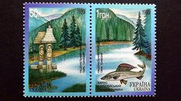 Ukraine 302/3 **/mnh, EUROPA/CEPT 1999, Naturpark Synewir - Ukraine