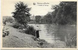 BARVAUX S/O : L'Ourthe Au Barrage - Pêcheur - Durbuy