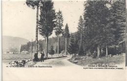 GERARDMER . L'ECHO DE RAMBERCHAMP . Edt A. LARGERON Bijouterie-souvenirs . NON ECRITE - Gerardmer