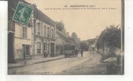 55. Marcoussis, Route De Versailles, Prise De La Propriété De M. Petit Tessier, Du Coté De La Mairie - France