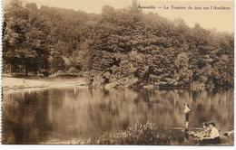 AYWAILLE : La Tombée Du Jour Sur L'Amblève - Pêcheur - Aywaille