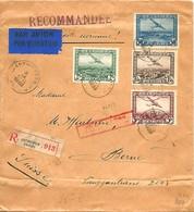 BELGIQUE Lettre PA Anvers > Suisse 1930 - Airmail