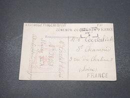 FRANCE - Carte De Prisonniers Pour Saint Chamond En 1940 ( 1ère Carte De Correspondance Avant Les Formulaires) - L 16918 - Marcofilia (sobres)