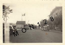 HENDAYE IRUN FRONTIERE ESPAGNOLE - TRACTIONS -PHOTO 9x6 Cms - Automobiles