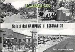 Emilia Romagna-forli Cesena-cesenatico Vedute Camping Rose Di Cesenatico Anni 50/60 - Autres Villes