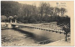 AYWAILLE : Le Pont Suspendu Et Le Parc - 1924 - Aywaille