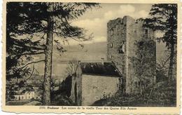 POULSEUR : Les Ruines De La Vieille Tour Des Quatre Fils Aymon - Comblain-au-Pont
