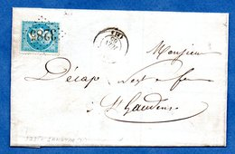 Facture / Etablissement Dufourc  / De Samatan /  19 Juin 1865 - Storia Postale