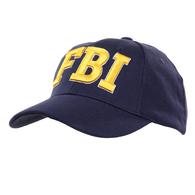 Casquette Bleue FBI CAP US Federal Bureau Of Investigation ( Broderie Jaune ) - Headpieces, Headdresses