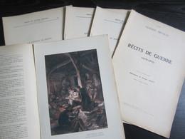Recits De Guerre (1870 - 1871) En Cinq Supplements De L'illustration Du 7, 14, 21, 28 Octobre Et Du 4 Novembre 1911 - Le - Non Classificati