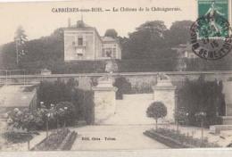 D78 - Carrières Sous Bois - Le Château De La Châtaigneraie : Achat Immédiat - Autres Communes