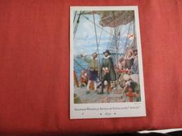 "Governor Winthrop Arrives At Salem On The ""Arbella""  1630 ---------------ref 2955 - History"