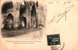 51 - SERMAIZE-les-BAINS - Intérieur Des Ruines De L'Abbaye De Trois-Fontaines - En L'état - Sermaize-les-Bains