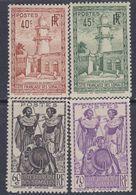 Cote Des Somalis N° 177 / 80  XX : Type De 1938 : Les 4 Valeurs Sans Charnière, TB - Französich-Somaliküste (1894-1967)