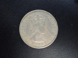 CARAÏBES ORIENTALES : 25 CENTS  1961  KM 6   TTB - Caraïbes Orientales (Etats Des)