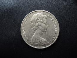 AUSTRALIE : 20 CENTS  1978  KM 66   SUP - Monnaie Décimale (1966-...)