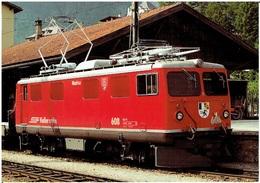 Schweiz - Graubünden / Elektrolokomotive RhB Ge 4/4 Nr. 608 - Eisenbahnen