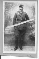 1918 Portrait D'officier Français Interprète De Langue Arabe XIXè Corps D'armée 1 Photo D'un Album Sur Gal.Nivelle Ww1 - War, Military