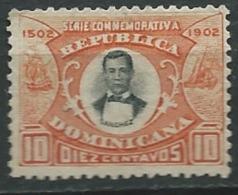 Dominicaine       - Yvert N° 113    (*)   -   Bce 14339 - Dominicaine (République)