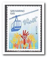San Marino 2012, Postfris MNH, Europe, Cept, Cable Car - Ongebruikt