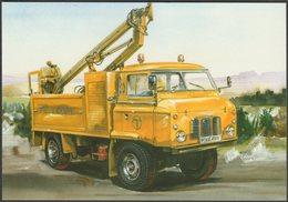 British Telecom 110-inch Forward Control Land Rover Series IIB - Golden Era Postcard - Trucks, Vans &  Lorries