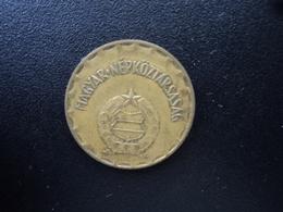 HONGRIE : 2 FORINT  1985 BP   KM 591    TTB - Hungary