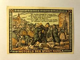 Allemagne Notgeld Ruhla 50 Pfennig - [ 3] 1918-1933 : Weimar Republic