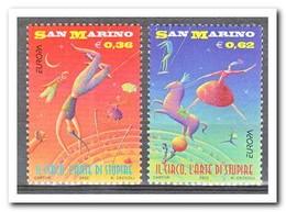 San Marino 2002, Postfris MNH, Europe, Cept, Circus - Ongebruikt