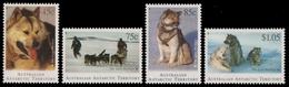 AAT / Austral. Antarktis 1994 - Mi-Nr. 98-101 ** - MNH - Schlittenhunde - Territoire Antarctique Australien (AAT)