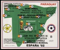 Paraguay 1985 - Mi-Nr. Block 411 ** - MNH - Fußball / Soccer, Football - Paraguay