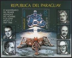 Paraguay 1984 - Mi-Nr. Block 406 ** - MNH - Raumfahrt / Space - Paraguay